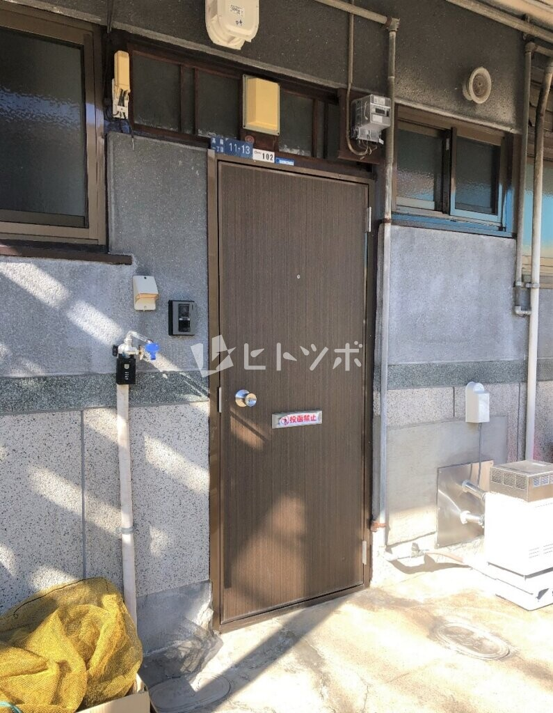 玄関ドア(洗濯機置場)