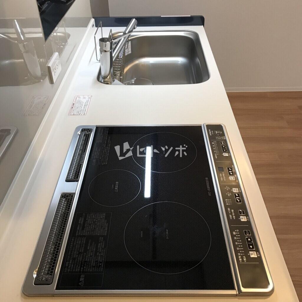 システムキッチン IHコンロ