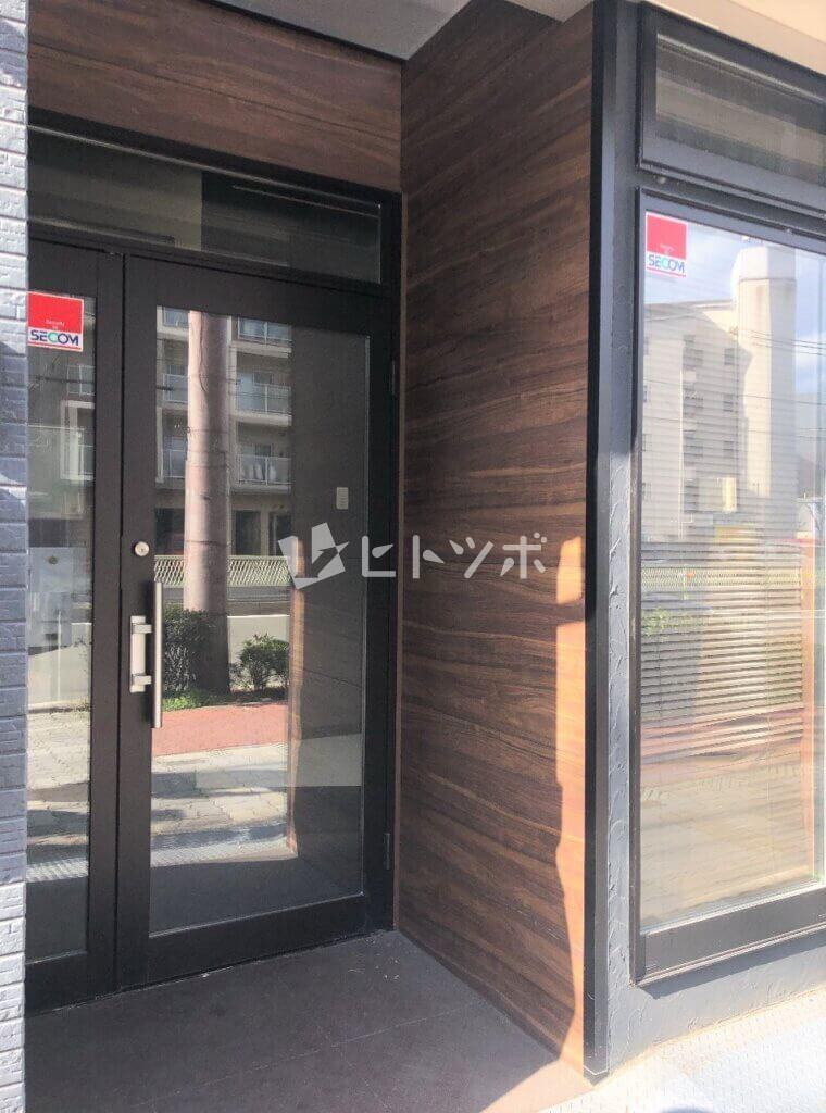 赤川3丁目貸家(玄関)