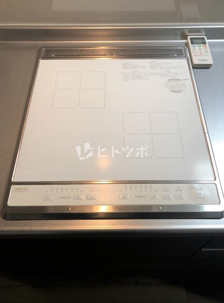 IH2口コンロ