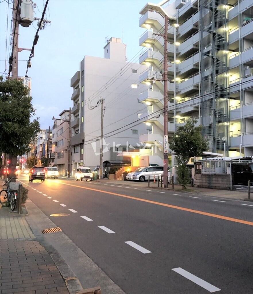 生江1丁目周辺道路