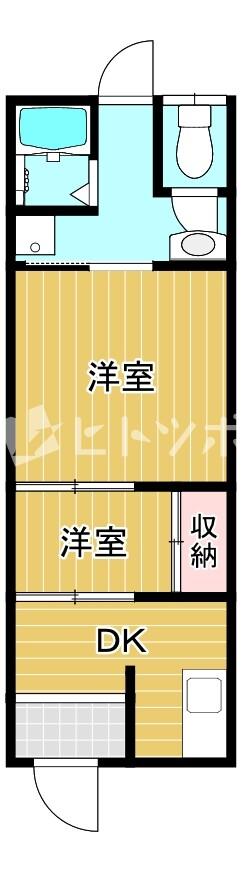 生江1丁目テラスハウス(間取り)